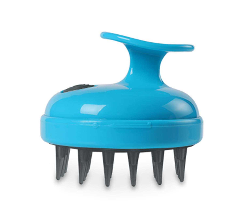 Dexas StressBuster Massaging Pet Brush, Blue by Dexas