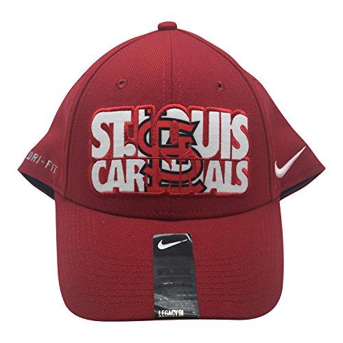 Nike MLB St. Louis Cardinals Dri Fit One Fit Flex Cap Hat M/L