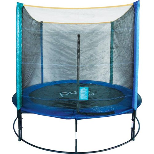 Pure-Fun-8-Foot-Trampoline-with-Enclosure-Set