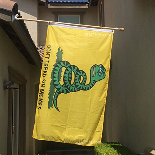 Don't Tread On Memes Pepe Flag 3′ x 5′