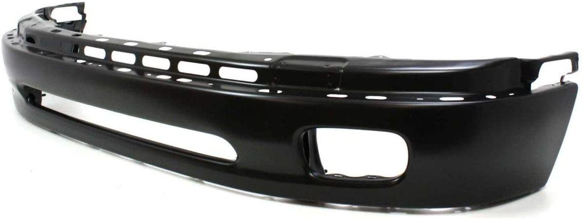 Base//Sr5 Models Steel Type TO1002171 New Front Lower Bumper For 2000-2004 Toyota Tundra Black