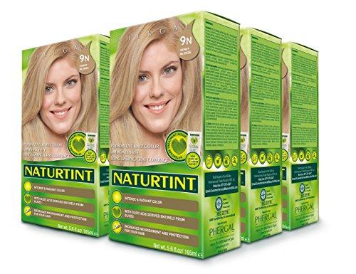Naturtint Permanent Hair Color - 9N Honey Blonde, 5.6 fl oz (6-pack) -