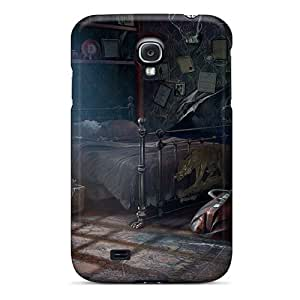 UxlEbDx7151LBzUe AMGake Fierce Tales Dogs Heart07 Durable Galaxy S4 Tpu Flexible Soft Case
