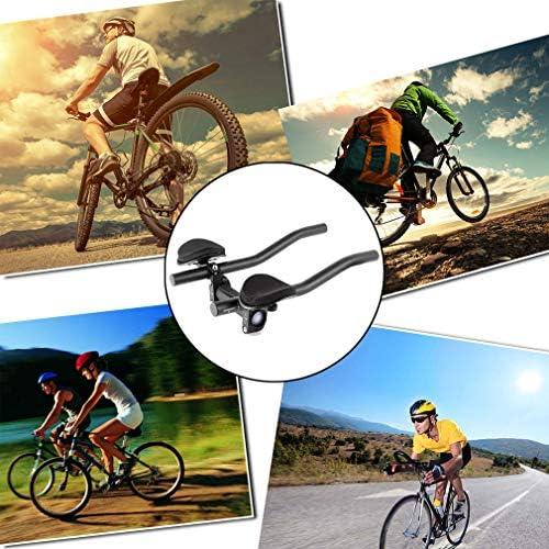 XenYonve Triatlón Manillar Bicicleta Aleación de Aluminio Brazo para Bicicleta de Carretera o Montaña Carrera de Ciclismo MTB Descansar: Amazon.es: Deportes y aire libre