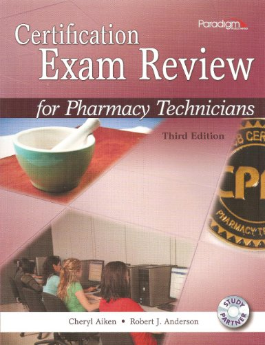 pharmacy technician study guide book