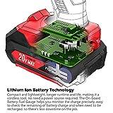20V Max Lithium Ion Cordless Impact Driver