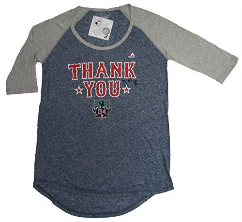MLB Boston Red Sox David Ortiz #34 Thank You