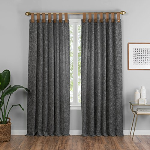 Vue Torrington Tab Top Window Curtain Panel, 52