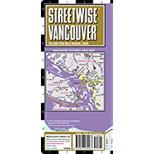 Streetwise Vancouver Map