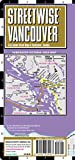 Streetwise Vancouver Map - Laminated City Center Street Map of Vancouver, Canada (Michelin Streetwise Maps)