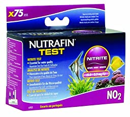 Nutrafin Nitrite 0.0 to 3.3 Mg/L for Fresh and Saltwater, 75 -Tests