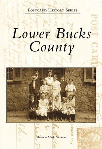 Lower Bucks County  (PA) (Postcard History Series)