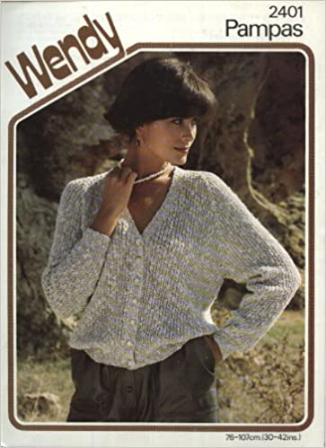 Wendy 2401 Knitting Pattern Ladys Fisherman Rib Cardigan 30 42in
