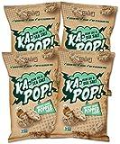 Ka-Pop! Popped Chips, Olive Oil & Salt (3.25oz, Pack of 4) - Allergen Friendly, Sorghum, Gluten-Free, Paleo, Non-GMO…