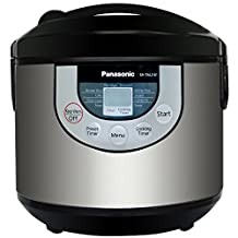 Panasonic 10-in-1 Fuzzy Logic Multi Cooker - 10-Cup_Black; Stainless Steel