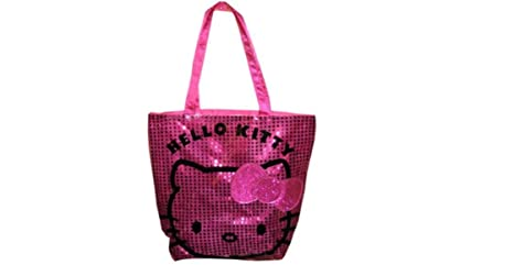 ea4af2dce7 Image Unavailable. Image not available for. Color  Hello Kitty Shimmery  Sequin ...