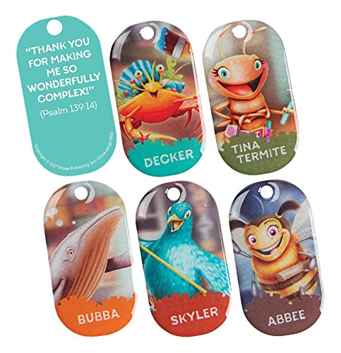 Bible Memory Buddies (Set of 5) (Group Easy VBS 2017) -