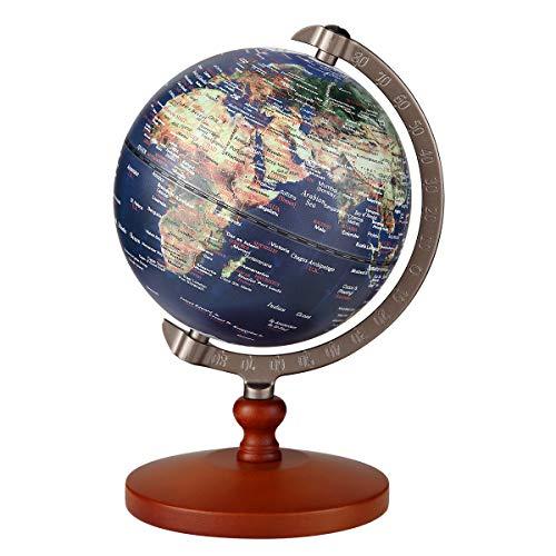 FUN GLOBE 2 in 1 LED World Globe Desktop Decoration ...