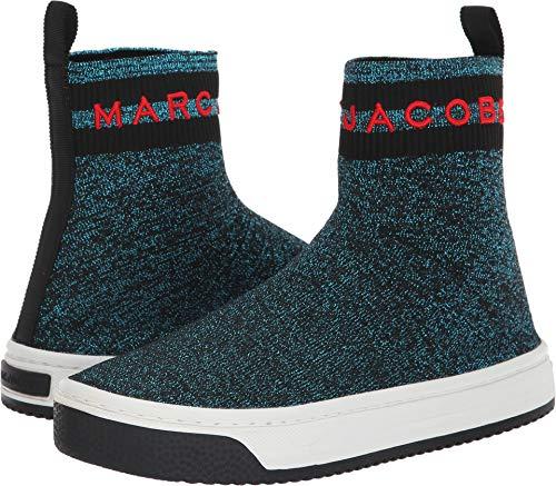 Marc Jacobs Women's Dart Sock Sneaker, Blue/Multi, 38 M EU (8 US) from Marc Jacobs
