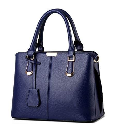 Alidier - Bolso de tela para mujer azul zafiro