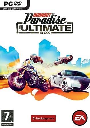 Burnout Paradise: The Ultimate Box pc dvd-ის სურათის შედეგი