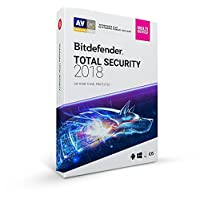 Bitdefender Total Security Multi Device 2018, 5 Devices, 1 Year Retail DVD