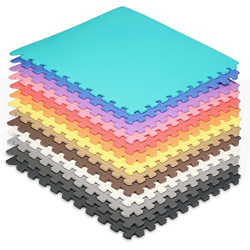 Amazon.com : We Sell Mats - 2\'x2\' Foam Interlocking Anti-fatigue ...