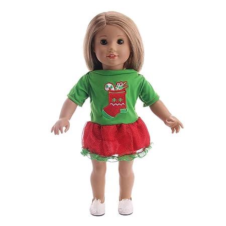 BeesClover - Disfraz de casa de Juegos de Navidad para niña de 18 ...