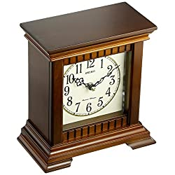SEIKO Wooden Chiming Desk Clock