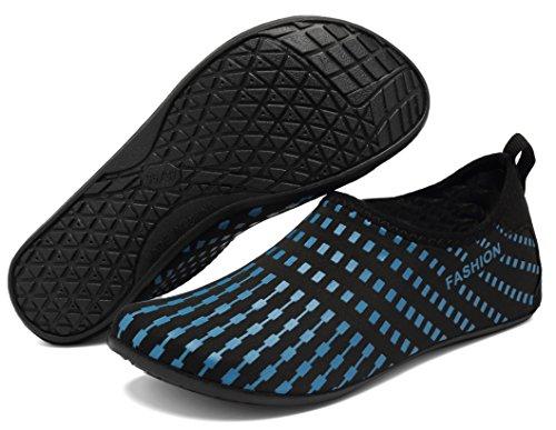 Pool Swim Aqua Water Barefoot Mens Yoga Beach Treeblue Socks Shoes AoSiFu Exercise Womens Surf and for qzYxBww