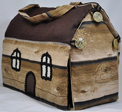 Borsa Capanna The Hut Bag Amazonit Handmade