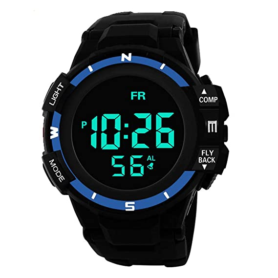 Uhren Led Date Digitaluhren Watch Sport Ears Analog Digital Wasserdichte Wrist Outdoor Armbanduhr Quartz Sports Anzeige Herrenuhr Alarm Für Licht 1c3FJTl5uK