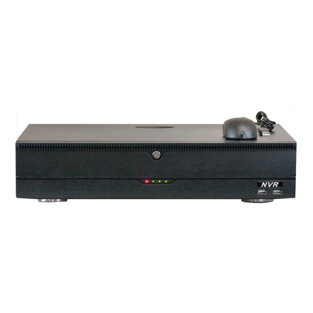 GW 32 Channel H.265/H.264 4K (3840×2160) NVR Security Network Video Recorder - Supports Up 32 X 8MP/5MP/4MP 1080P Any ONVIF IP Camera @ 30fps Realtime, Hold Up to 4x SATA HDDs by GW Security Inc (Image #1)