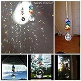 H&D 30mm Chandelier Crystals Ball Prisms Rainbow