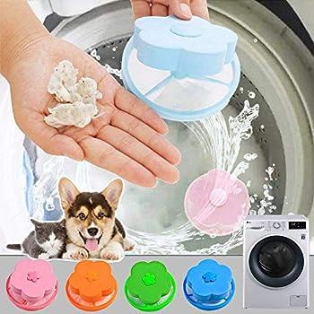 Pet Hair Remover para la colada,lavadora flotante Pet Fur Catcher,Pelota para remover pelos para ropa//ropa de cama,reutilizable bola de limpieza flotante Catcher arandela Secadora Floating Ball