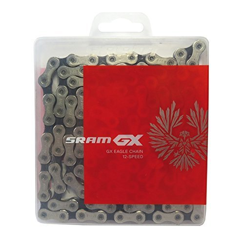 (SRAM GX Eagle 12-Speed Chain Silver, 126 links)