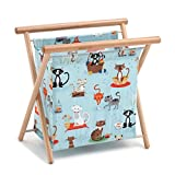 Hobby Gift 'Crafty Cats at Home' Sewing Basket 23 x 36 x 36cm (d/w/h)