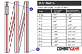 Combat Corner Young Star BJJ Belt Grey/White A-1