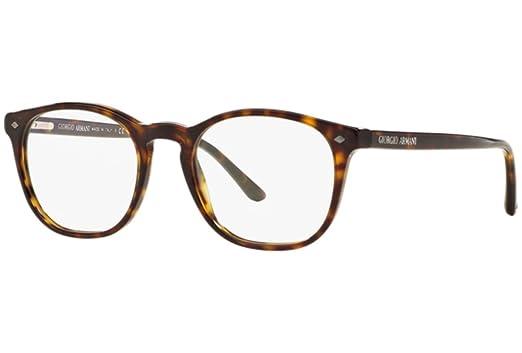 Giorgio Armani 7074 50 5026 Dark Havana Eyeglasses Occhiale Vista Havana Eyewear o6vrJ6