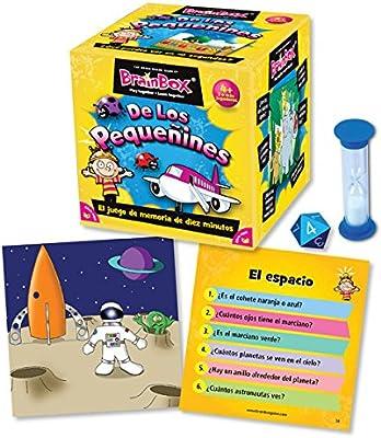 Brain Box Juego de Memoria de Los Pequeñines, Multicolor (Green ...