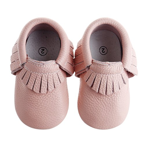 Pidoli Baby Shoes Moccasins Leather Infant/Toddlers for Boys and Girls