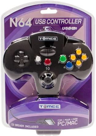 TOMEE N64 USB CONTROLLER DRIVERS UPDATE