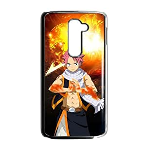 Custom Hot Anime Fair Tail Natsu Happy Lucy Gray Elza Scarlet Hard Plastic Phone Cover Case For LG G2 (Fit for AT&T) Phone Shell