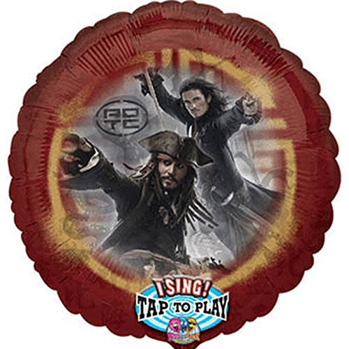 (Pirates of the Caribbean 'Dead Man's Chest' Singing Foil Mylar Balloon (1ct))