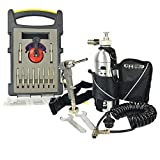Hydro Handle HHPSET-K1 - 1/2'' Chuck, Quick Release Water Fittings, Recoil Hose, Hand Pump, Bottle w/Carrying Pouch in a Storage Box & the HHBLKIT 10pcs Bit Set