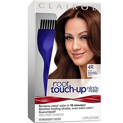 Clairol Nice n Easy Touch, Up, 004R, Dark Auburn Dark Reddish Brown, 2 pk (Reddish Auburn)
