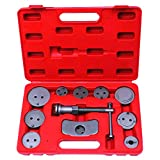 12pcs Disc Brake Caliper Piston Pad Car Wind Back Tool Kit with Case