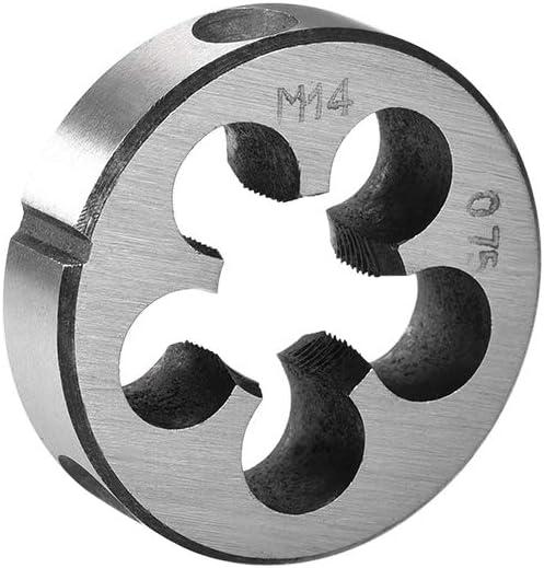 Acier haut vitesse sourcing map M14 M14x0,75 Filetage m/étrique machine main droite HSS