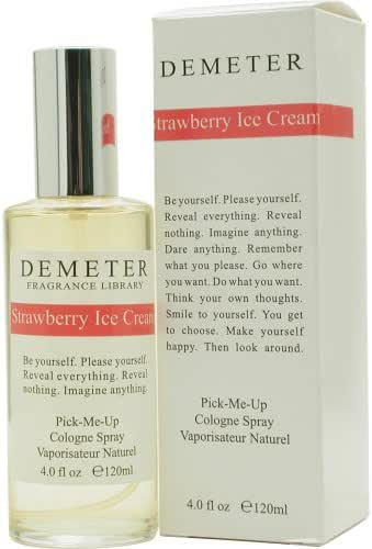 Strawberry Ice Cream By Demeter For Women. Pick-me Up Cologne Spray 4.0 Oz