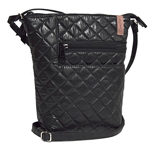 Quilted Penny Sharp Bag Grid Ebony Donna BqzPxw